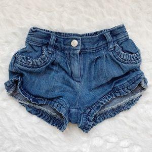 •3/$12•Janie and Jack Denim Shorts